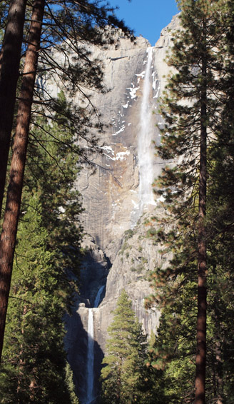 Yosemite double falls home stay