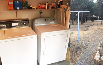 Laundry at Vacation Rental Cottage self catering